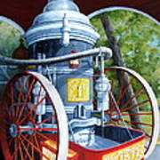 The Steamer Poster by Tanja Ware