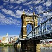 The Suspension Bridge Poster by Mel Steinhauer