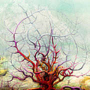 The Tree That Want Poster by Bjorn Eek
