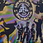 The Universal Zulu Nation Poster by Tony B Conscious