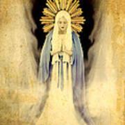 The Virgin Mary Gratia Plena Poster by Cinema Photography