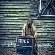 The Walking Dead Poster by Edward Fielding