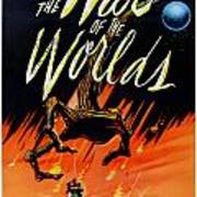 The War Of The Worlds Poster by Georgia Fowler