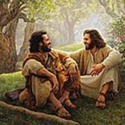 The Way Of Joy Poster by Greg Olsen
