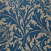 Thistle Design Poster by William Morris