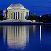 Thomas Jefferson Memorial Poster by Andrew Pacheco
