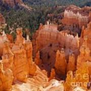 Thor's Hammer At Bryce Canyon In Utah Poster by Alex Cassels