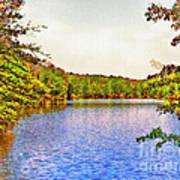 Thousand Trails Preserve Natchez Lake  Poster by Bob and Nadine Johnston