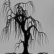 Three Trees Poster by Bob Orsillo