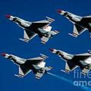 Thunderbirds Poster by Larry Miller