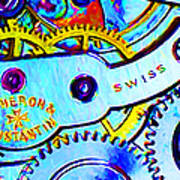 Time In Abstract 20130605 Long Poster by Wingsdomain Art and Photography