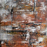 Timeless - Abstract Painting Poster by Ismeta Gruenwald