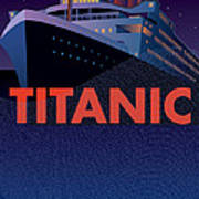 Titanic 100 Years Commemorative Poster by Leslie Alfred McGrath