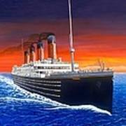 Titanic Poster by David Linton