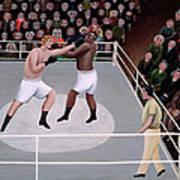 Title Fight Poster by Jerzy Marek