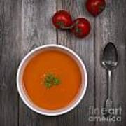 Tomato Soup Vintage Poster by Jane Rix