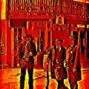 Tombstone Heat Poster by John Malone