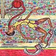 Tongue Jam Poster by Richard Hockett