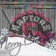 Toronto Raptors Poster by Joe Hamilton
