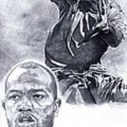 Torry Holt Poster by Jonathan Tooley
