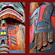 Totem 2 Poster by Theresa Tahara