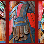 Totem 3 Poster by Theresa Tahara