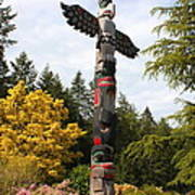 Totem Pole  Poster by Carol Groenen