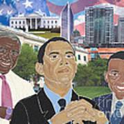 Trailblazers 2012 Poster by Martha Rucker