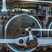 Train Wheels Poster by Paul Freidlund