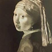 Tribute To Vermeer Homenaje A Jan Vermeer Poster by Fernando A Hernandez