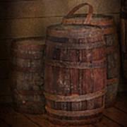 Triple Barrels Poster by Susan Candelario