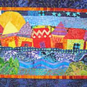 Tropical Harmony Poster by Susan Rienzo