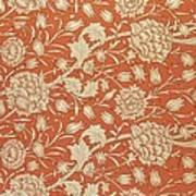 Tulip Wallpaper Design Poster by William Morris