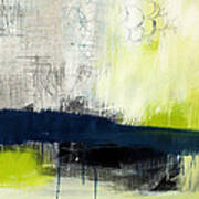 Turning Point - Contemporary Abstract Painting Poster by Linda Woods