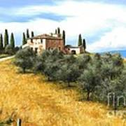 Tuscan Sentinels Poster by Michael Swanson