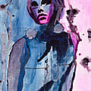 Twiggy Poster by Gracja Waniewska
