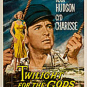 Twilight Of The Gods 1958 Poster by Mountain Dreams
