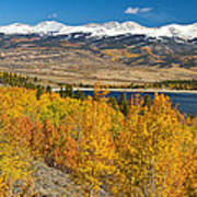 Twin Lakes Colorado Autumn Landscape Poster by James BO  Insogna