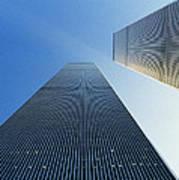 Twin Towers Poster by Jon Neidert
