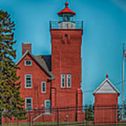 Two Harbors Lighthouse Poster by Paul Freidlund