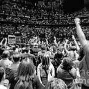 U2-crowd-gp13 Poster by Timothy Bischoff