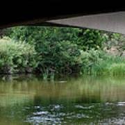 Under The Bridge Poster by Ernie Echols