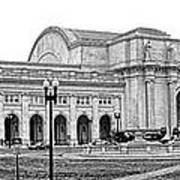 Union Station Washington Dc Poster by Olivier Le Queinec
