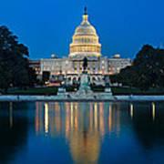 United States Capitol Poster by Steve Gadomski