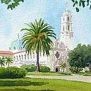 University Of San Diego Poster by Mary Helmreich