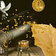 Unlock Thy Inner Self Poster by Kristie  Bonnewell
