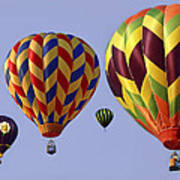 Up Up And Away Poster by Marcia Colelli