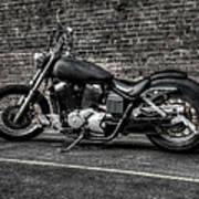 Urban Bike 001 Poster by Lance Vaughn
