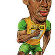 Usain Bolt Poster by Art
