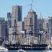 Uss Constitution Poster by Catherine Gagne